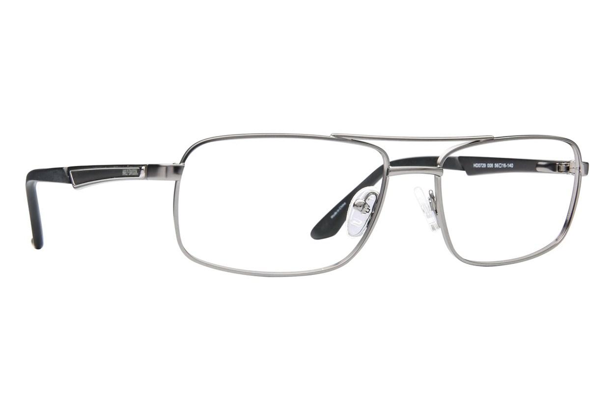 Harley Davidson HD 729 Gray Eyeglasses