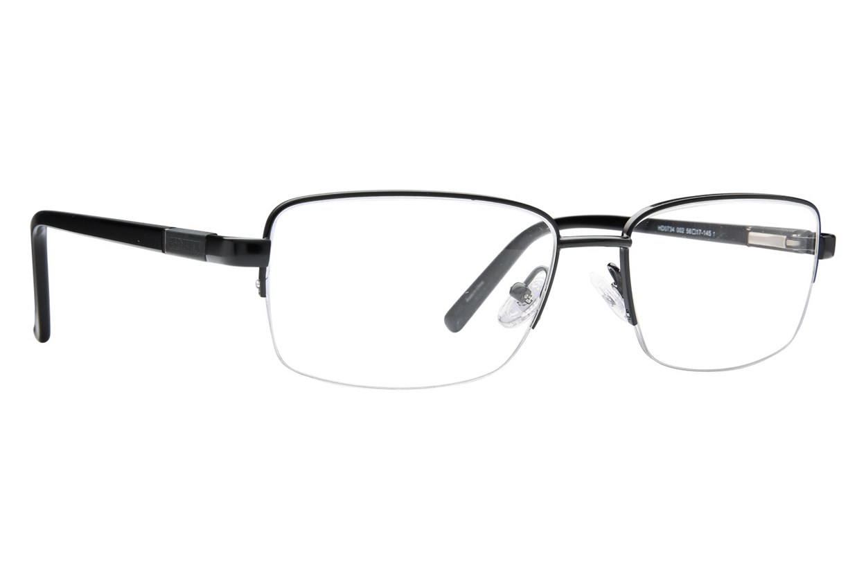 Harley Davidson HD 734 Black Eyeglasses