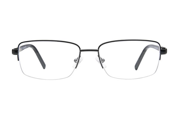 Harley Davidson HD 734 Eyeglasses - Black