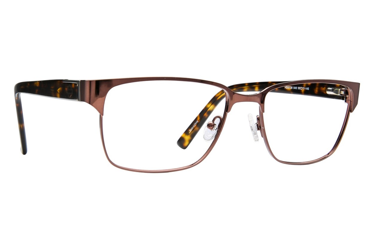 Harley Davidson HD 738 Brown Eyeglasses