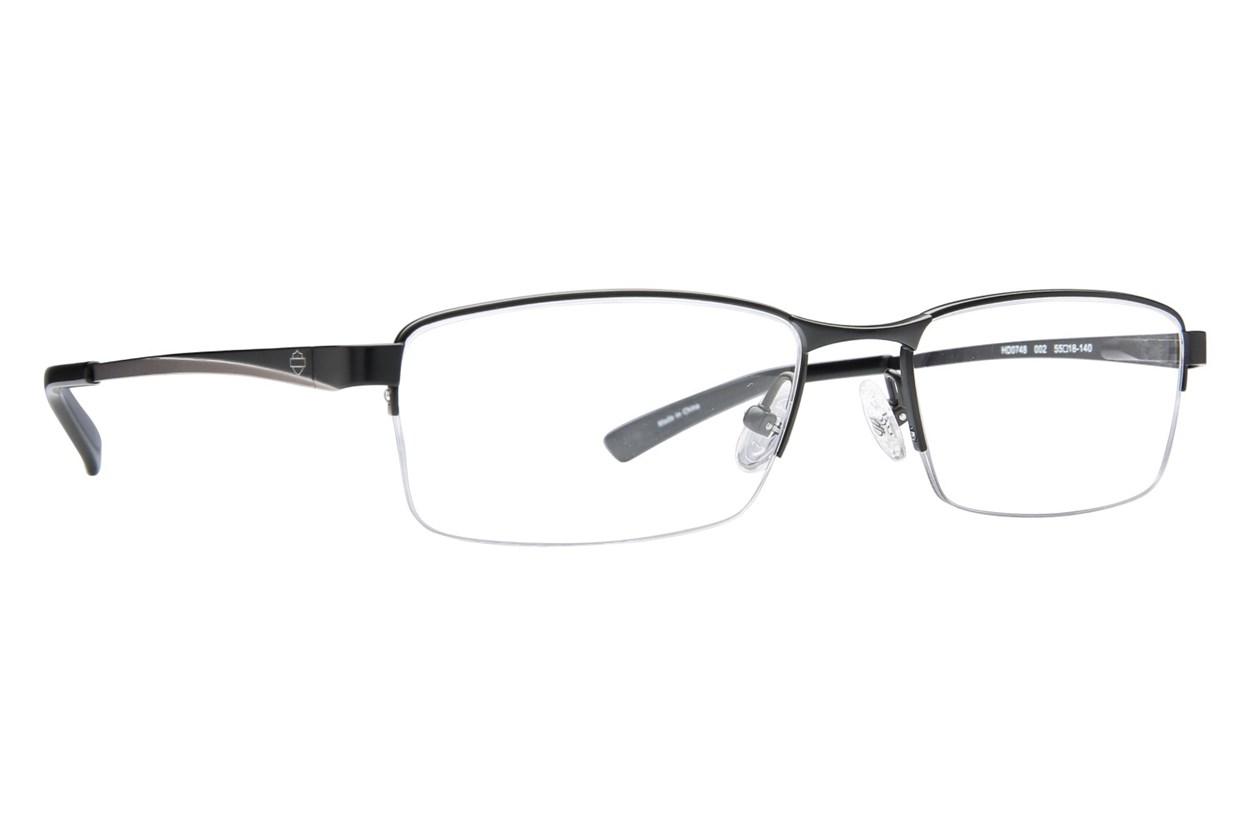 Harley Davidson HD 748 Black Eyeglasses