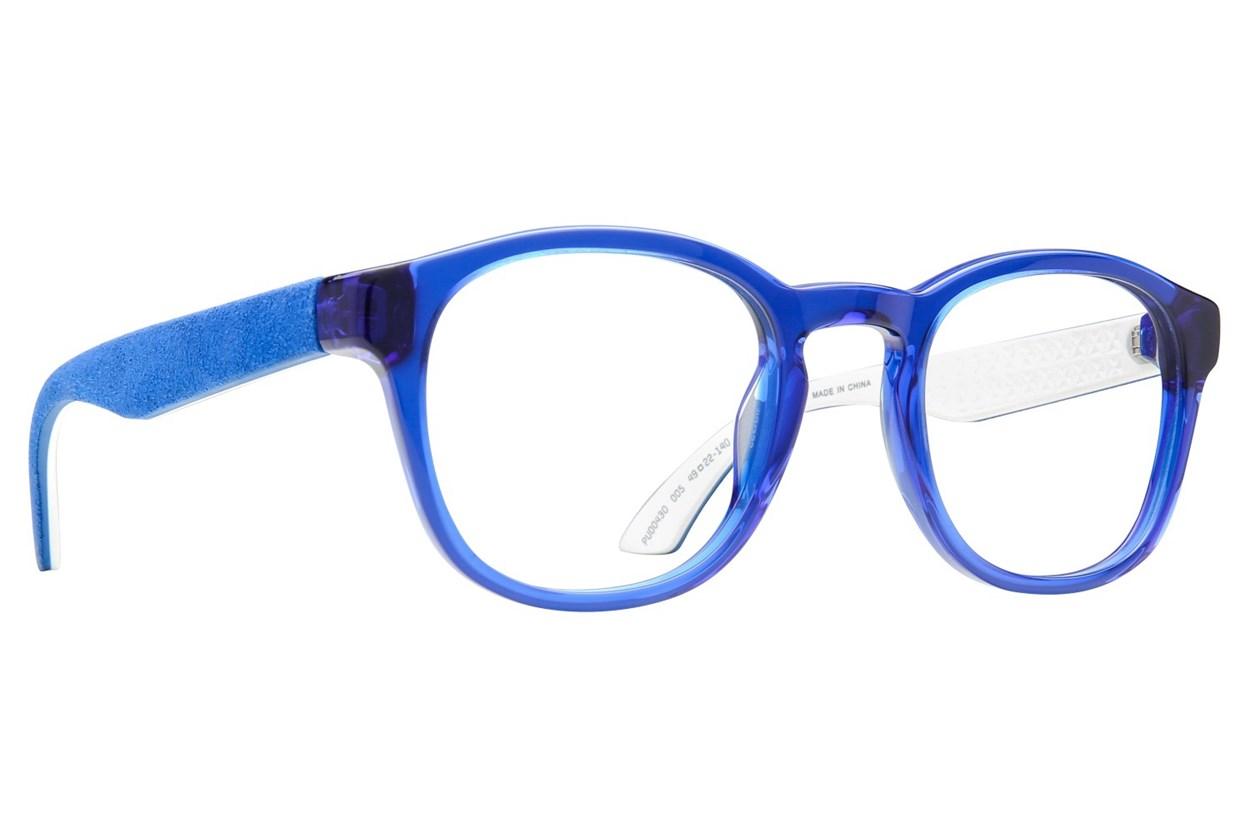 Puma PU0043O Blue Eyeglasses