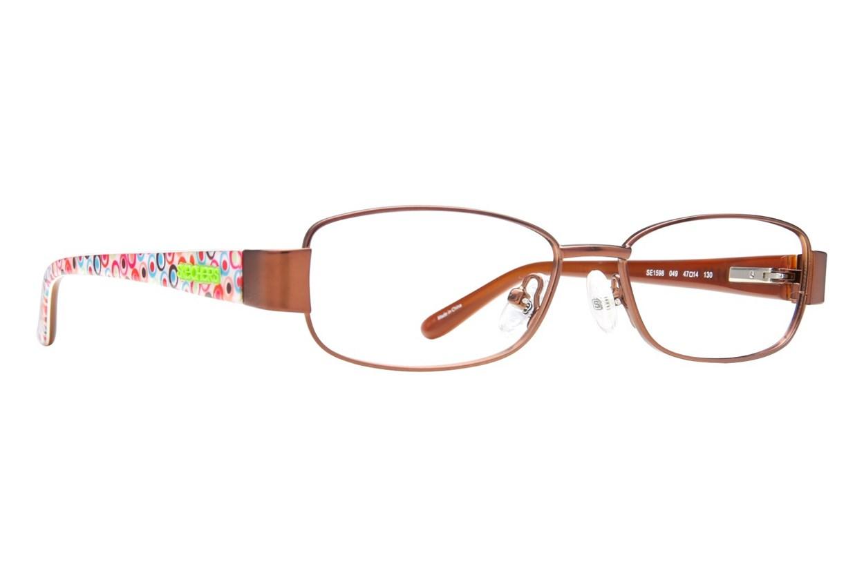 Skechers SE 1598 Brown Eyeglasses