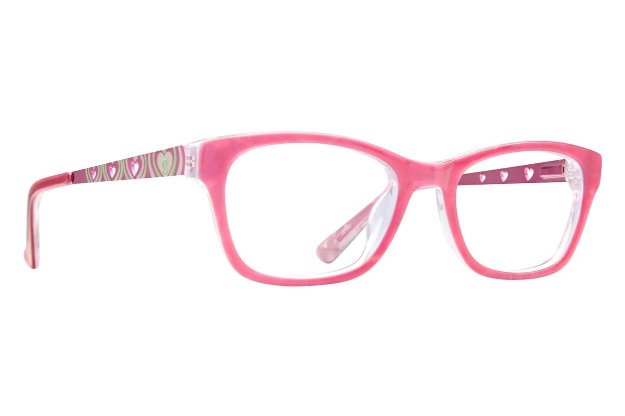 Skechers SE 1601 Pink Eyeglasses