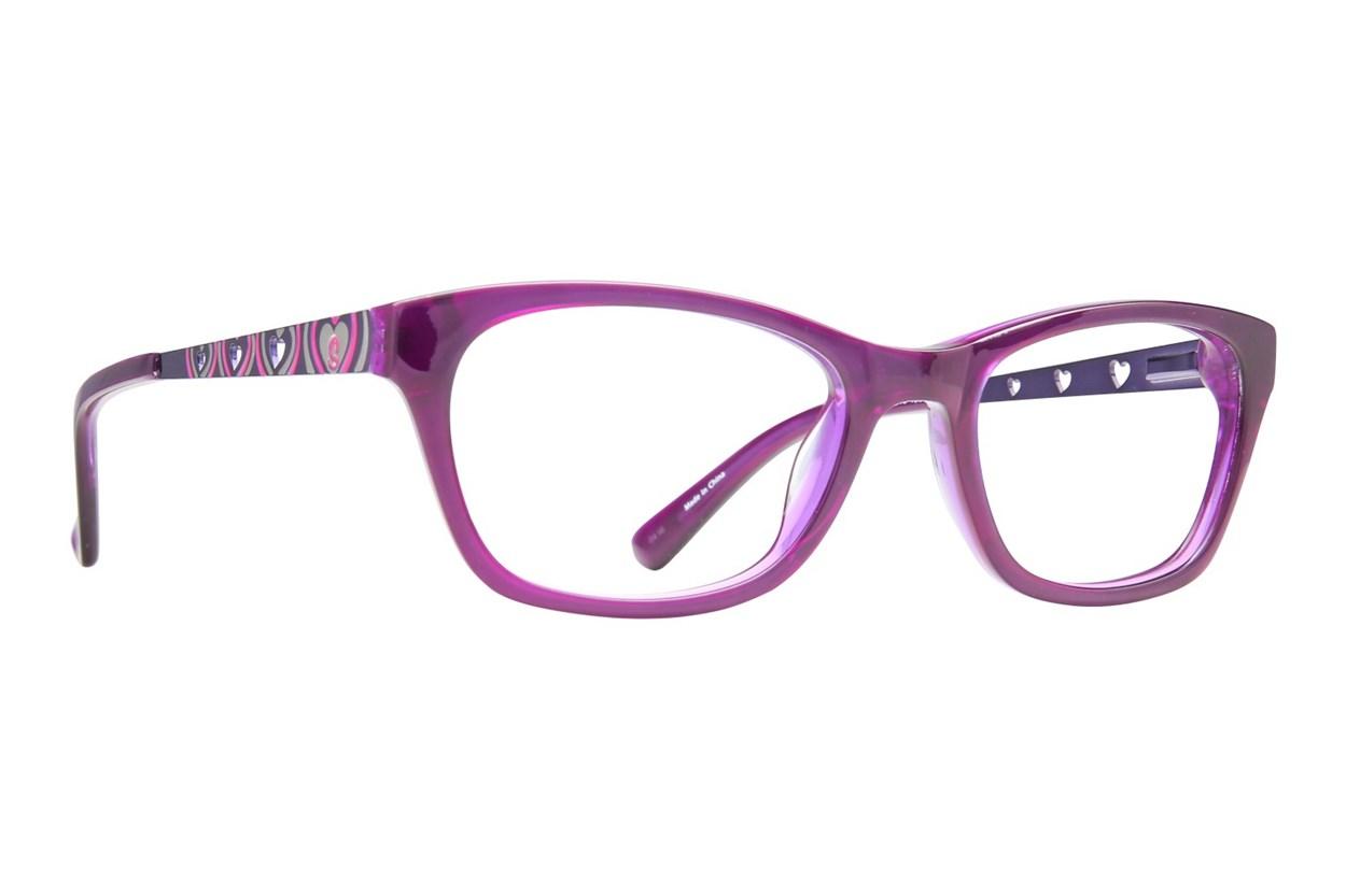 Skechers SE 1601 Purple Eyeglasses