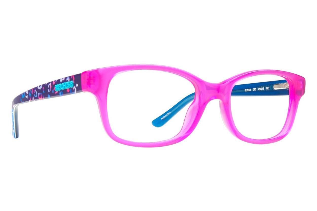 Skechers SE 1604 Pink Eyeglasses