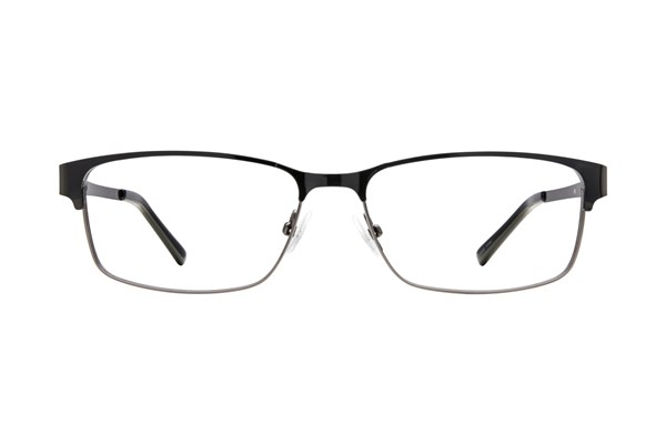Flextra 1701 Black Eyeglasses