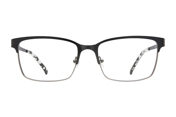 Flextra 1703 Eyeglasses - Black