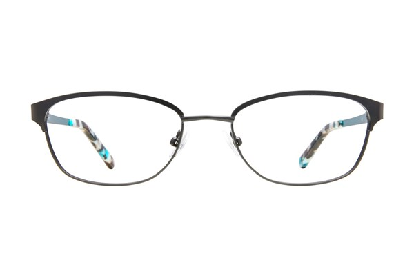 Flextra 2102 Black Eyeglasses