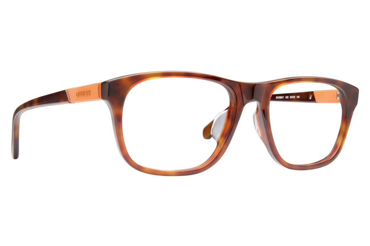 GUESS GU 1866-F Tortoise Eyeglasses