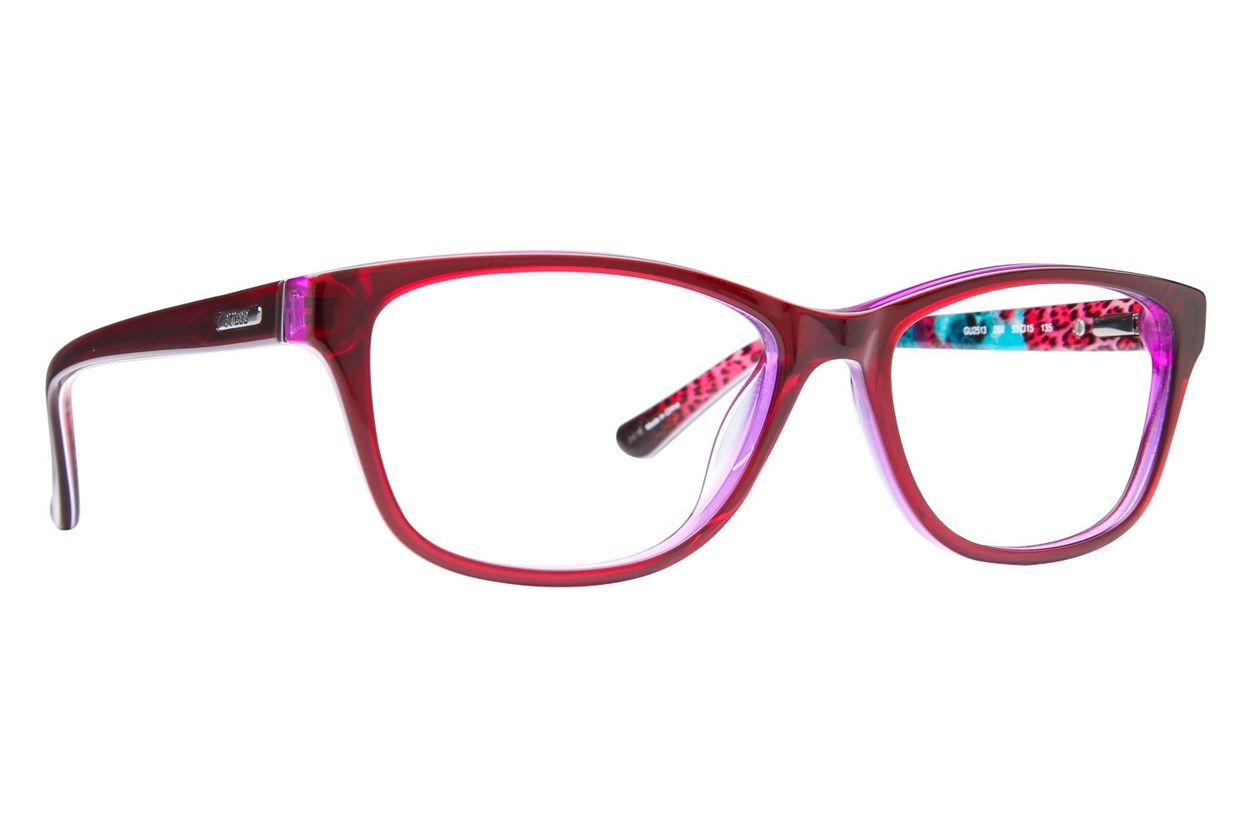 GUESS GU 2513 Red Eyeglasses