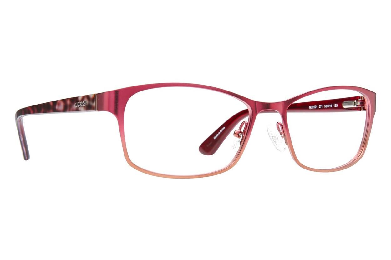 GUESS GU 2521 Wine Eyeglasses