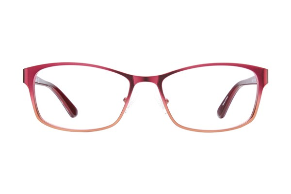 GUESS GU 2521 Wine Eyeglasses