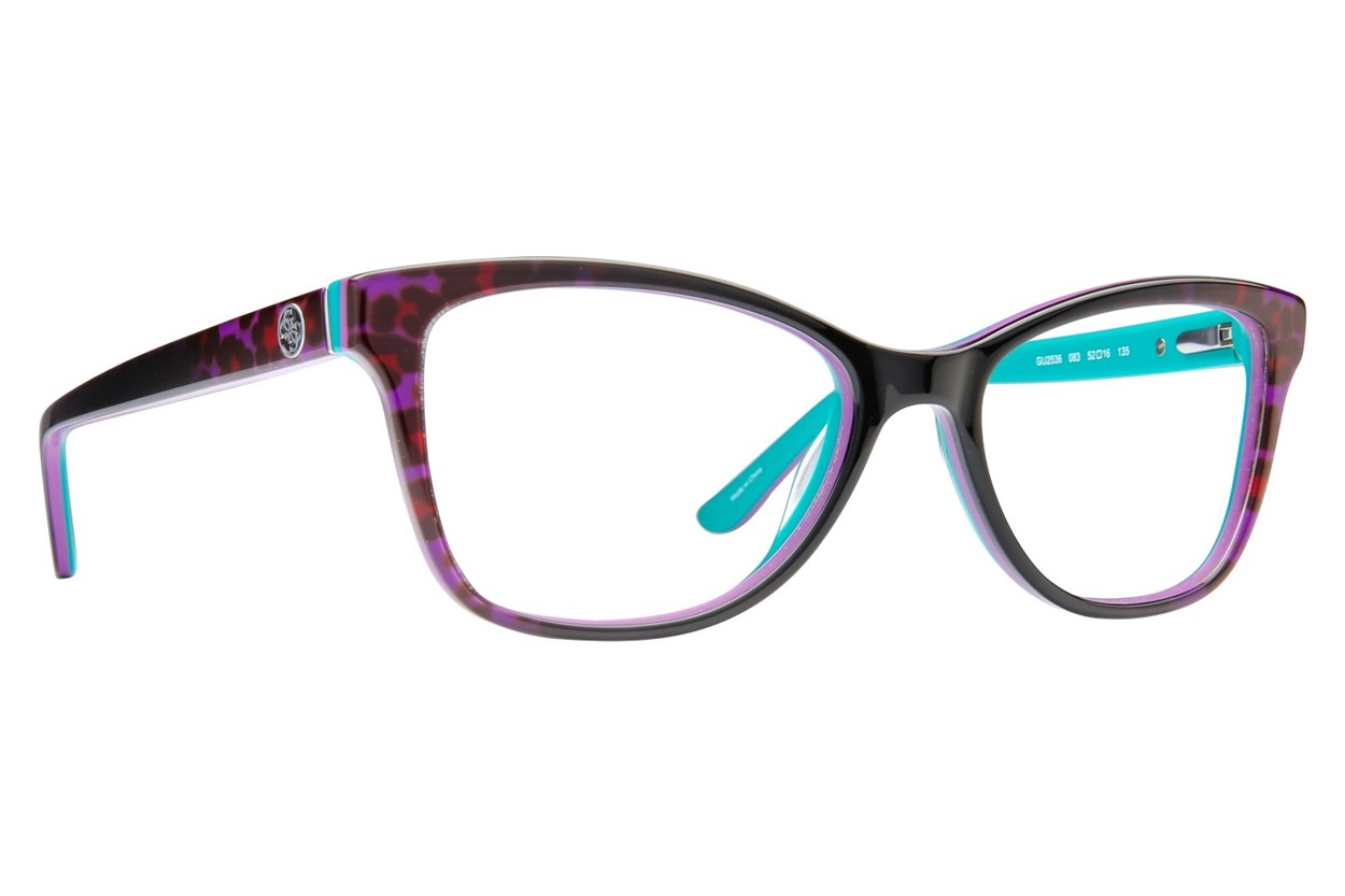 GUESS GU 2536 Purple Eyeglasses