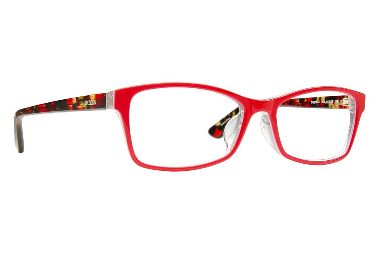 GUESS GU 2549-F Red Eyeglasses