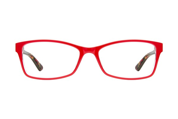 GUESS GU 2549-F Red Eyeglasses