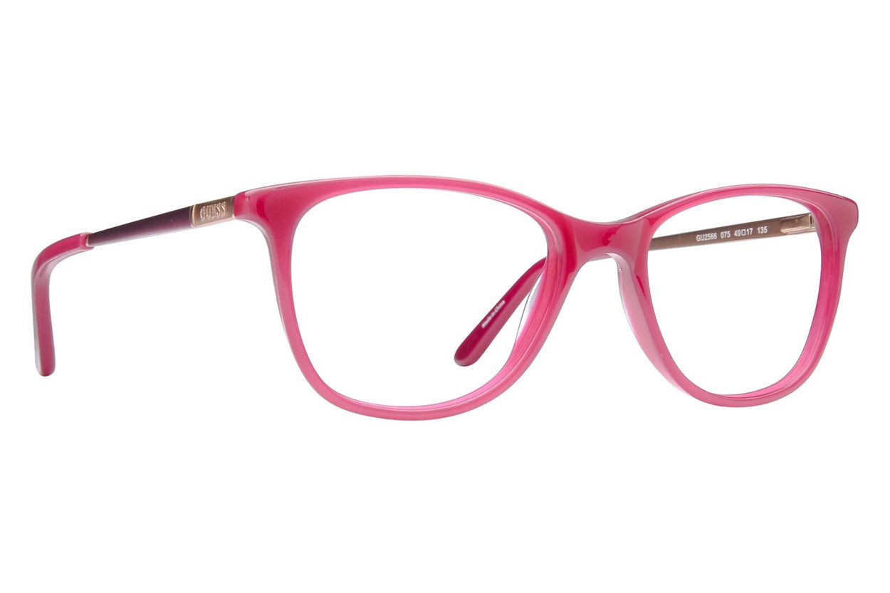 GUESS GU 2566 Pink Eyeglasses