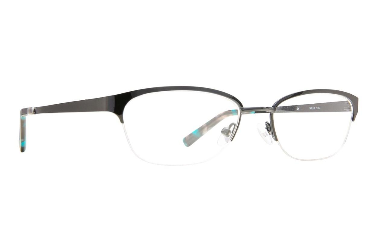 Flextra 2101 Black Eyeglasses