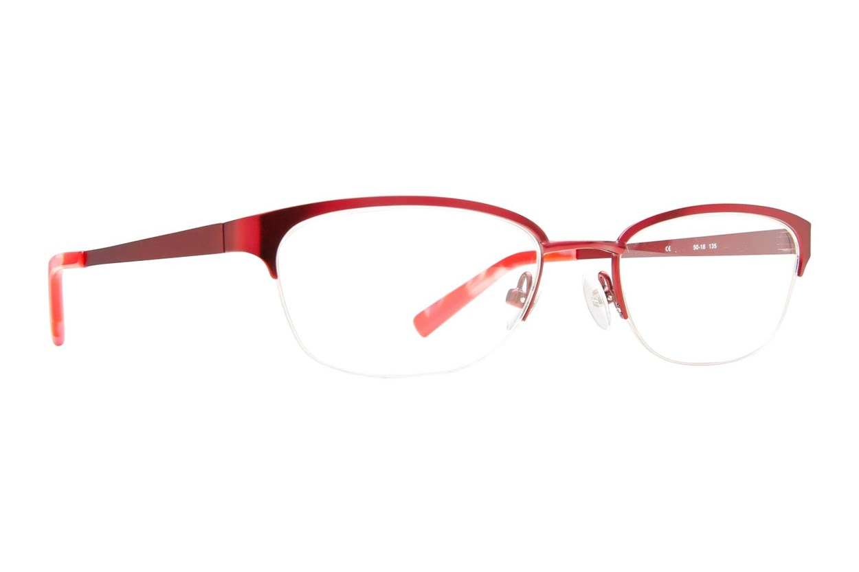 Flextra 2101 Red Eyeglasses