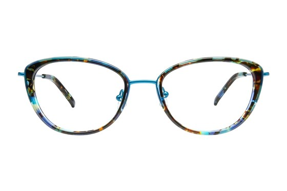 TC Charton Ayumi Blue Eyeglasses