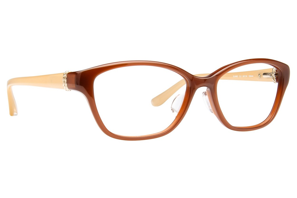 TC Charton Elaine Brown Eyeglasses