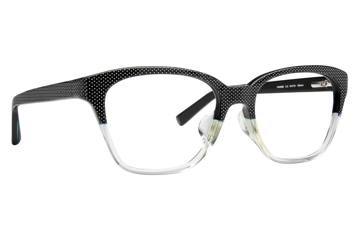 TC Charton Phoebe Black Eyeglasses
