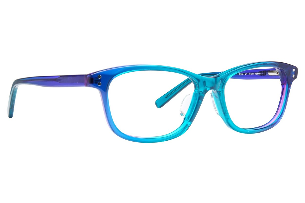TC Charton Bella Blue Eyeglasses