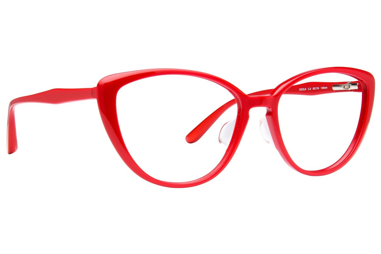 TC Charton Cecilia Eyeglasses - Red