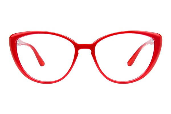 TC Charton Cecilia Red Eyeglasses
