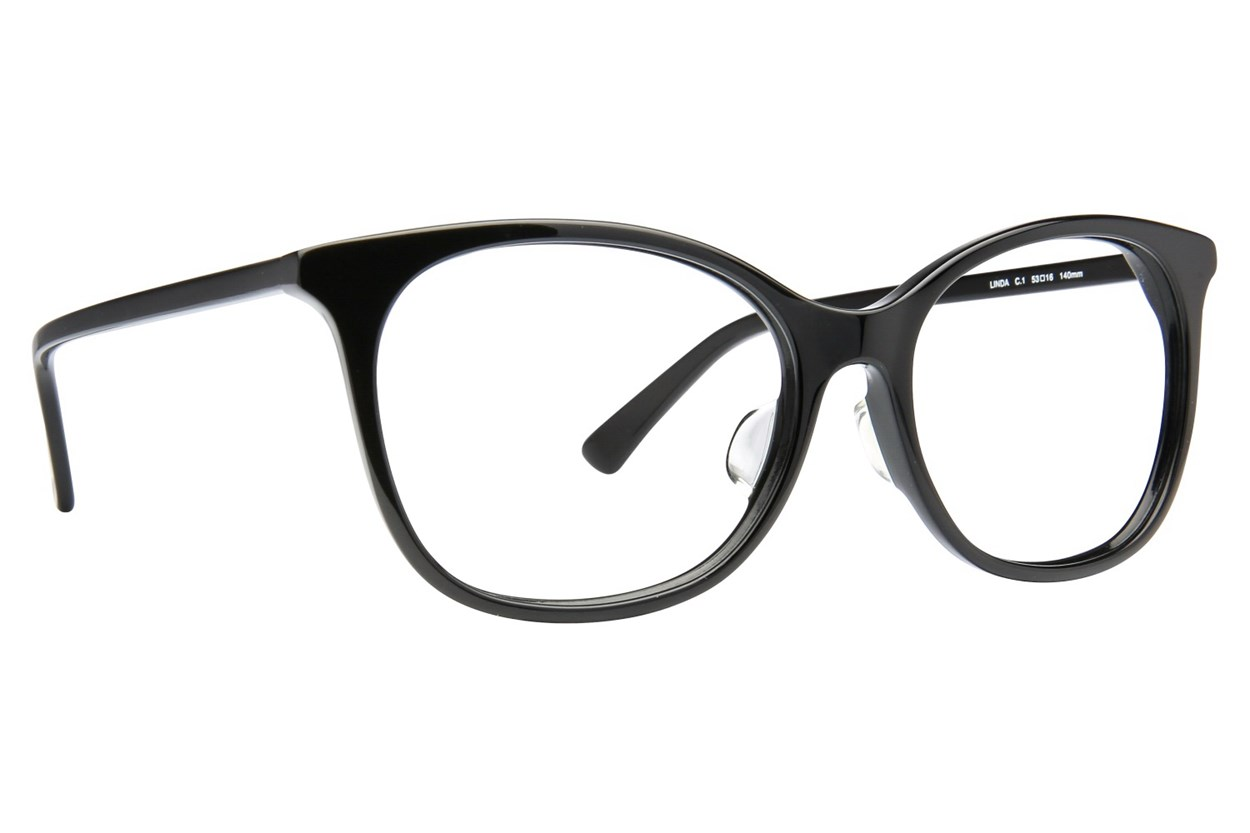 TC Charton Linda Eyeglasses - Black