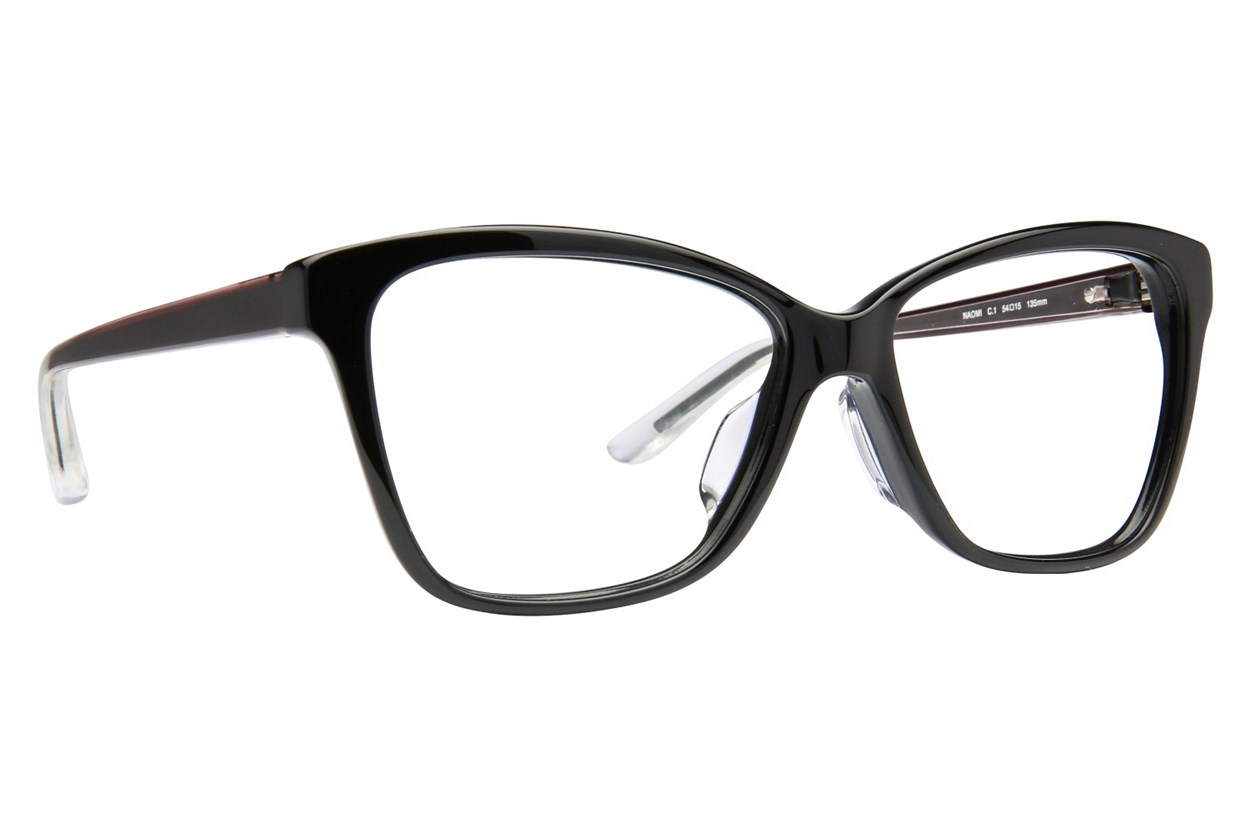 TC Charton Naomi Black Eyeglasses