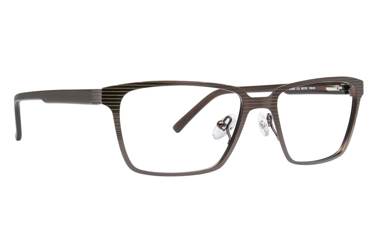 TC Charton Simon Brown Eyeglasses