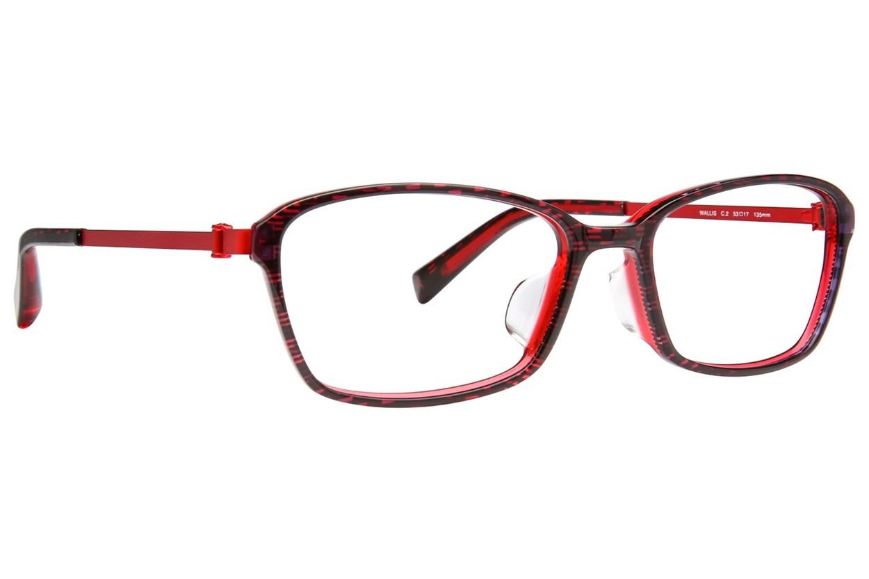 TC Charton Wallis Black Eyeglasses