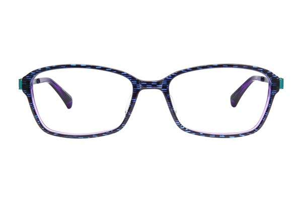 TC Charton Wallis Purple Eyeglasses