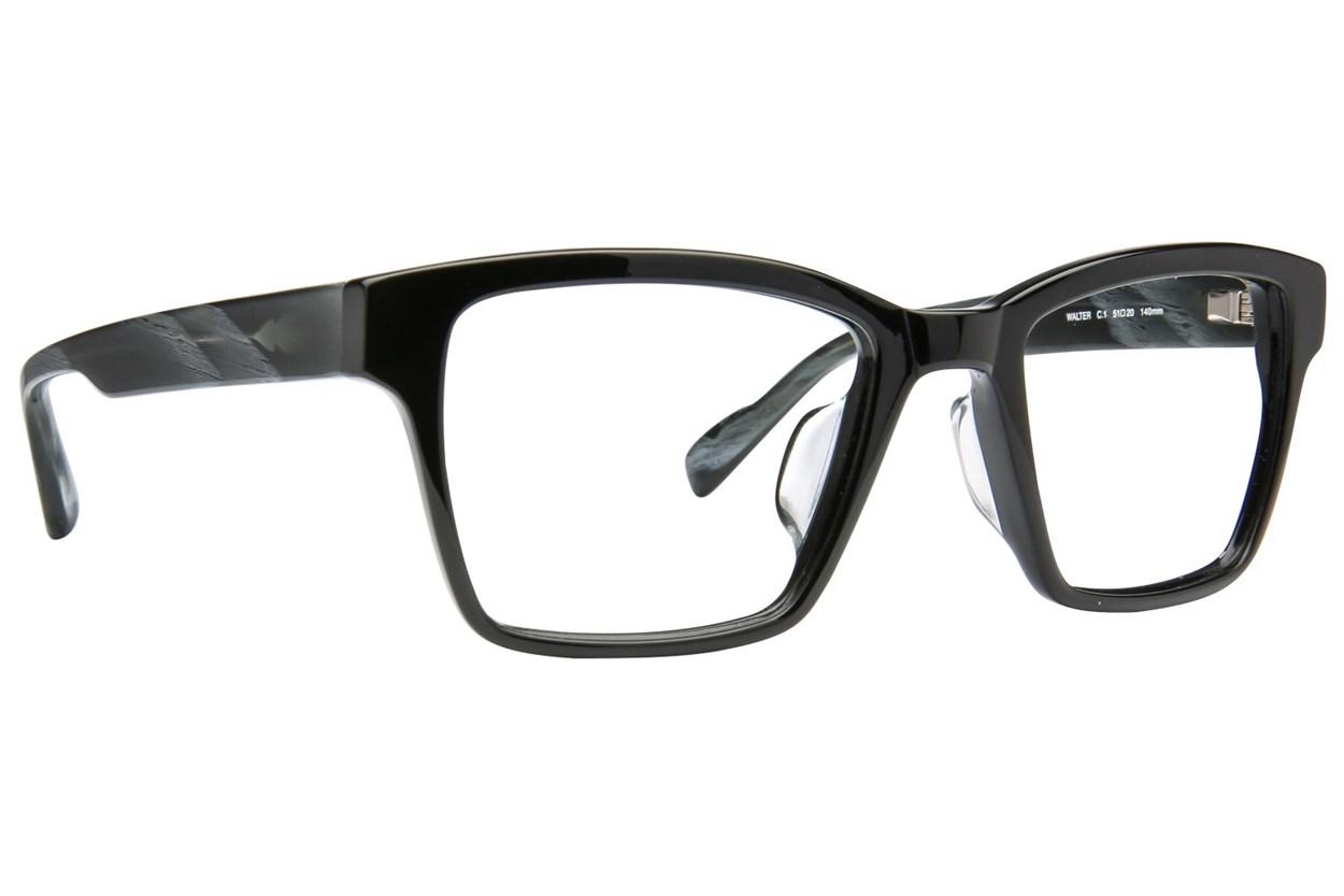 TC Charton Walter Black Eyeglasses