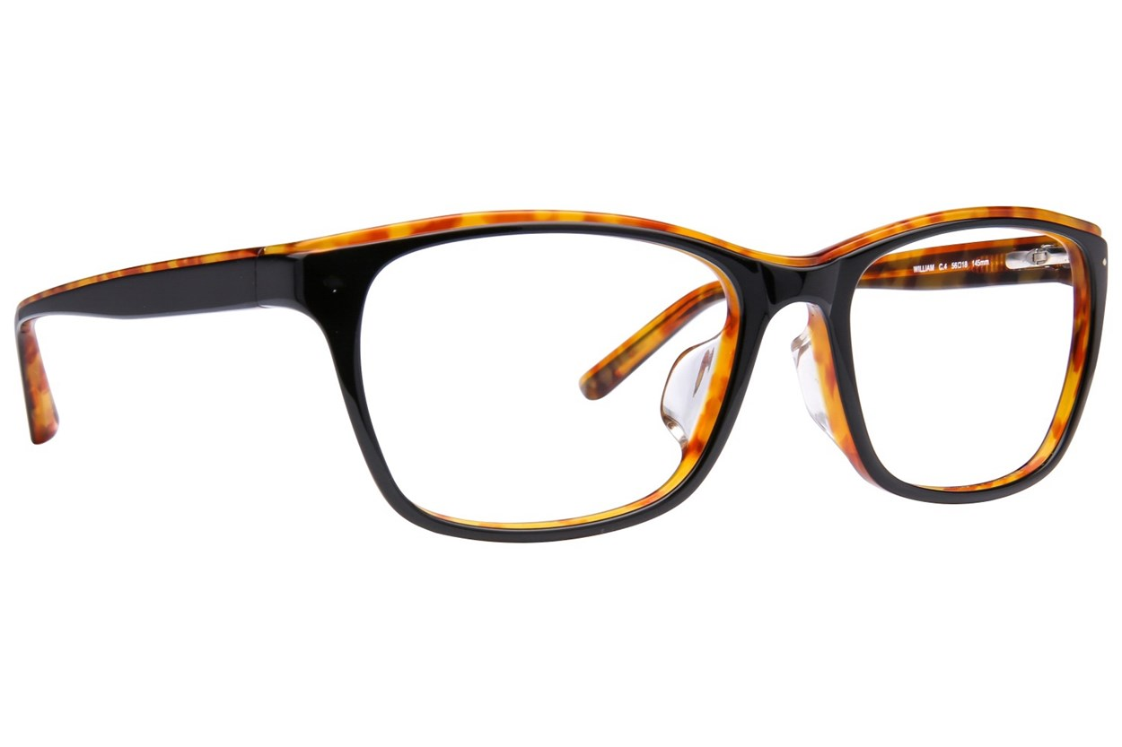 TC Charton William Black Eyeglasses