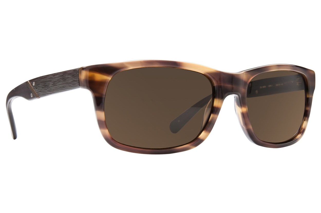 GUESS GU 6809 Brown Sunglasses