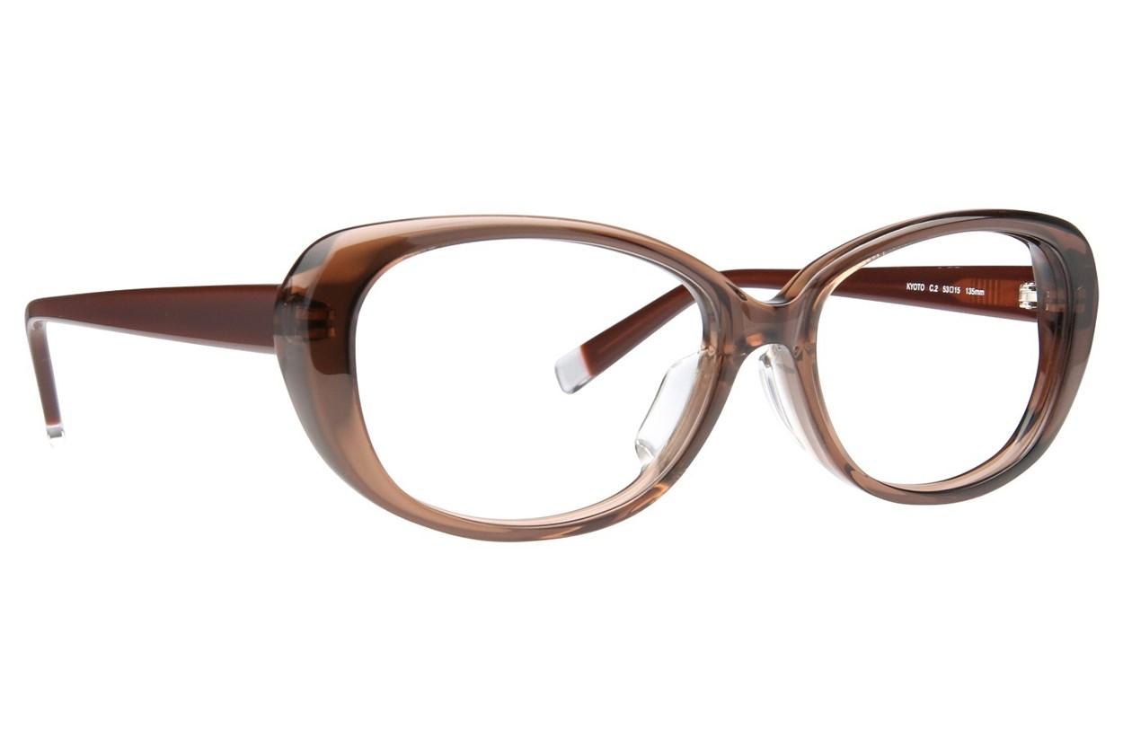 TC-Fit Kyoto Brown Eyeglasses