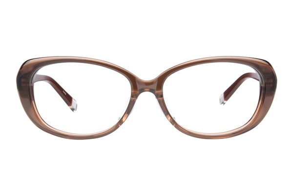 TC-Fit Kyoto Brown Eyeglasses
