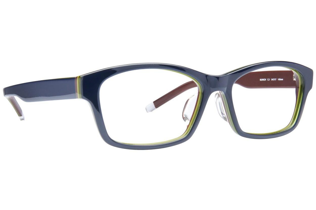 TC-Fit Munich Blue Eyeglasses
