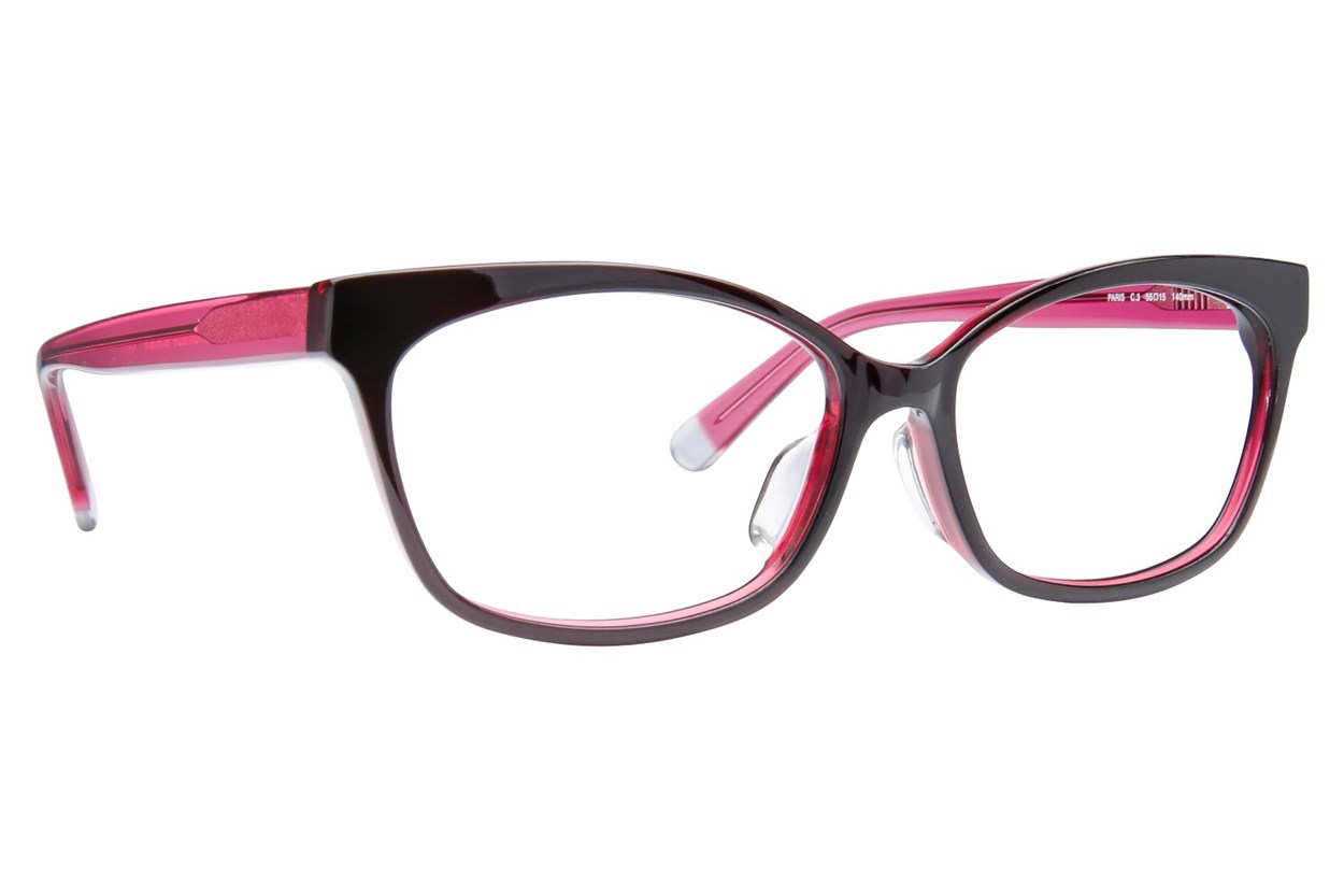 TC-Fit Paris Black Eyeglasses