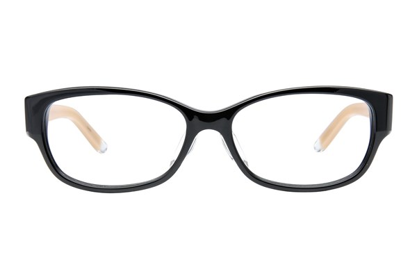 TC-Fit Shanghai Black Eyeglasses