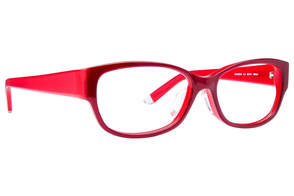 TC-Fit Shanghai Purple Eyeglasses