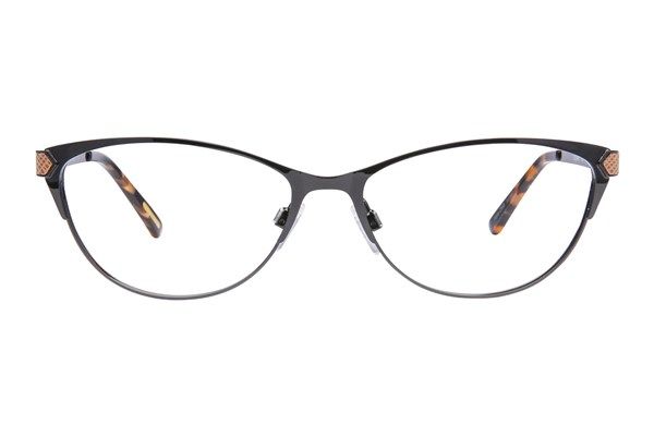 Via Spiga Elisa Black Eyeglasses