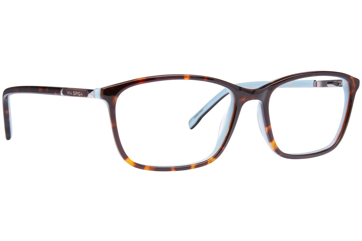 Via Spiga Evangelina Tortoise Eyeglasses