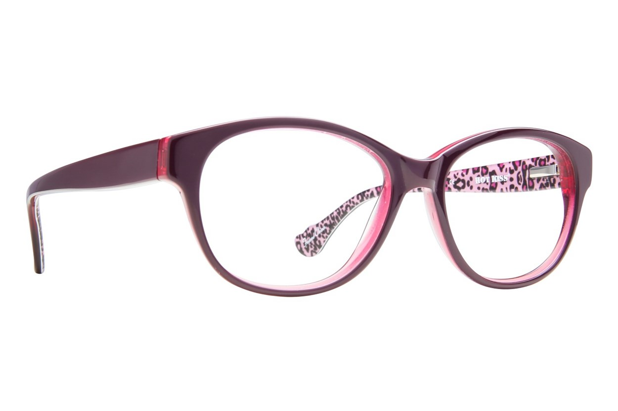 Hot Kiss HK14 Eyeglasses - Purple