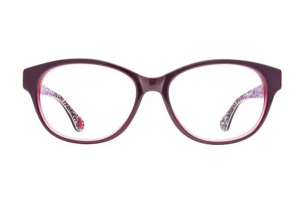 Hot Kiss HK14 Purple Eyeglasses