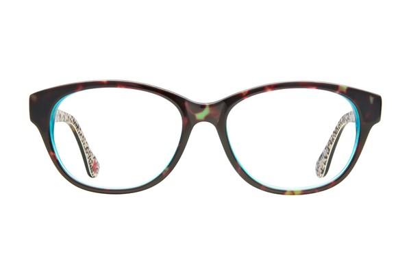 Hot Kiss HK14 Eyeglasses - Tortoise