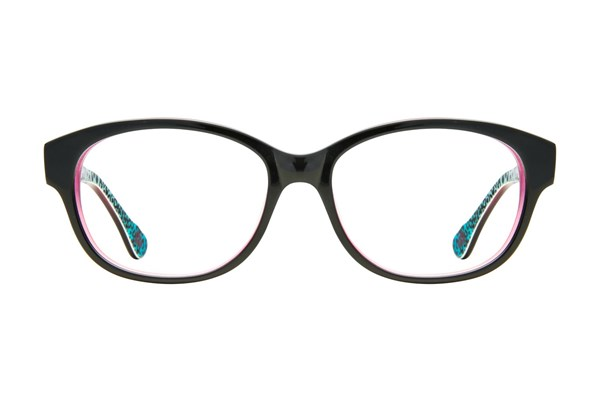 Hot Kiss HK14 Eyeglasses - Black