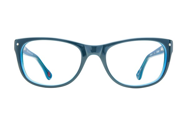 Hot Kiss HK33 Eyeglasses - Blue